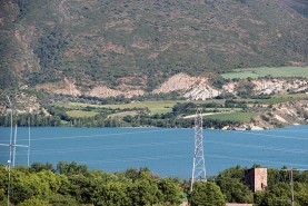 Views of the Sant Antoni Reservoir